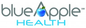 Blue Apple Health Logo
